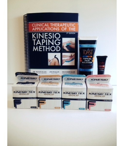 The Kinesio®Tape Physical Therapist Starter Pack   Vita ...