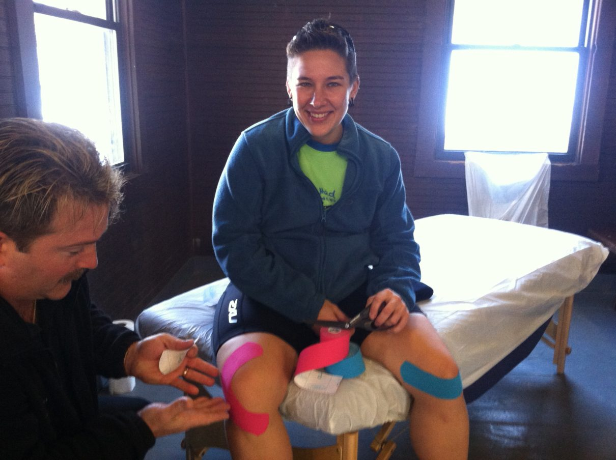 Kinesio Taping and Massage Therapy