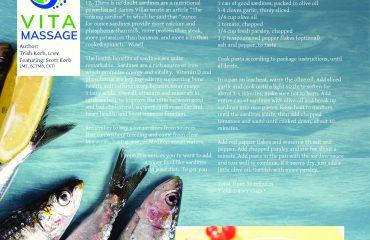 Vita Massage Suggests Healthy Eating
